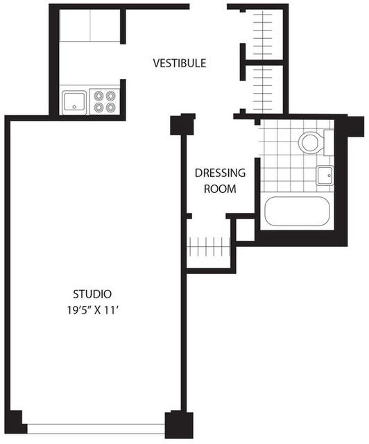 Studio, Tribeca Rental in NYC for $3,200 - Photo 2