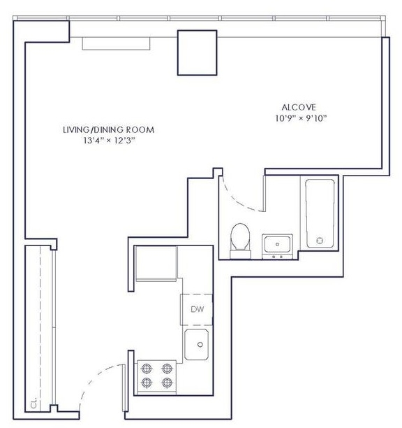 Studio, Chelsea Rental in NYC for $3,138 - Photo 2