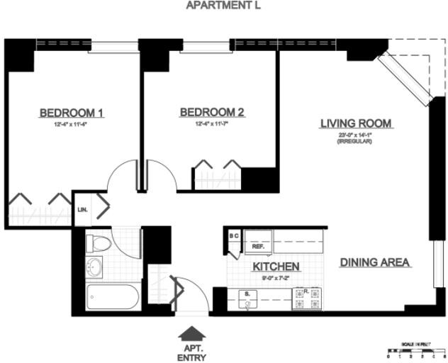 3 Bedrooms, Yorkville Rental in NYC for $3,997 - Photo 2