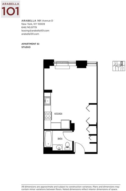 Studio, Alphabet City Rental in NYC for $2,850 - Photo 2