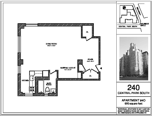 Studio, Theater District Rental in NYC for $3,369 - Photo 2