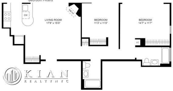 2 Bedrooms, Chelsea Rental in NYC for $4,595 - Photo 2