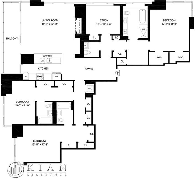 4 Bedrooms, Lincoln Square Rental in NYC for $25,000 - Photo 2
