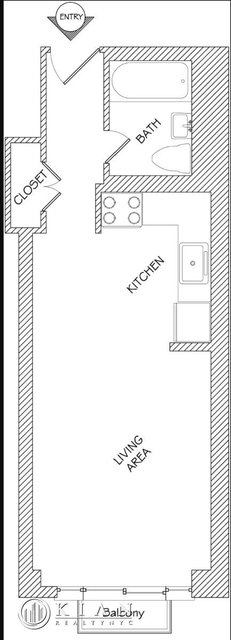 Studio, Murray Hill Rental in NYC for $2,495 - Photo 2
