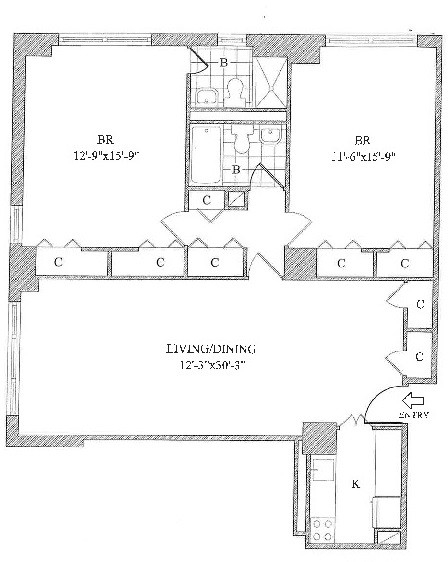 2 Bedrooms, Yorkville Rental in NYC for $5,950 - Photo 2