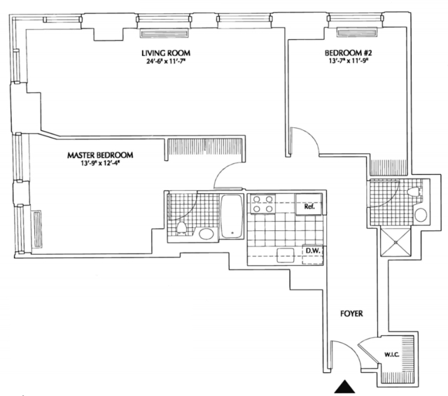 2 Bedrooms, Financial District Rental in NYC for $5,256 - Photo 2