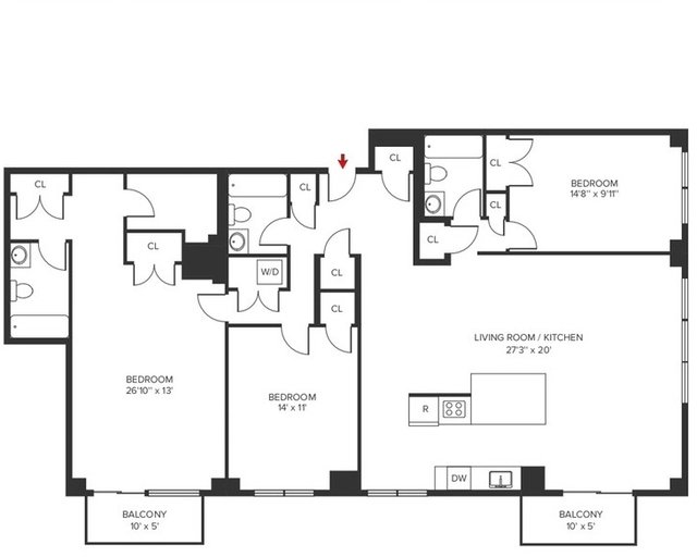 3 Bedrooms, Yorkville Rental in NYC for $12,200 - Photo 2