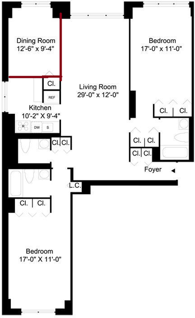 2 Bedrooms, Turtle Bay Rental in NYC for $5,200 - Photo 2