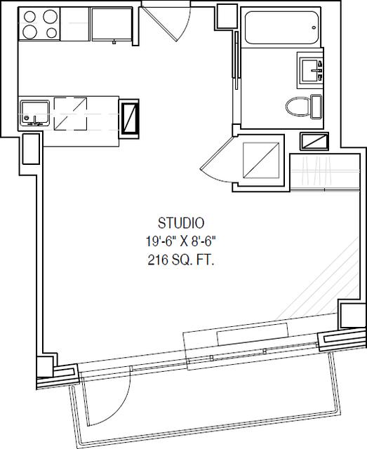 Studio, Alphabet City Rental in NYC for $3,700 - Photo 2