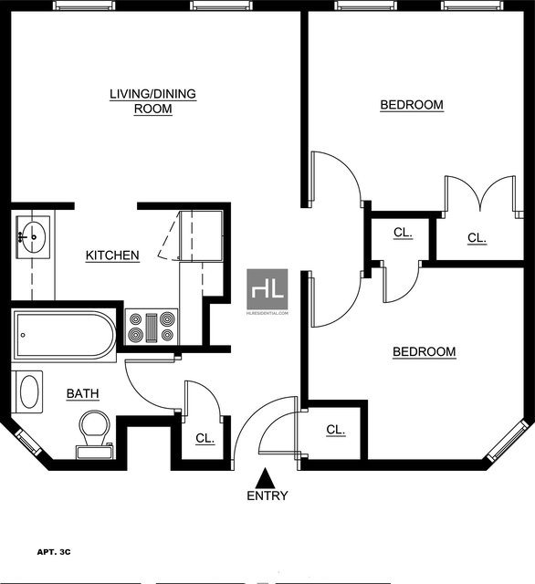 2 Bedrooms, Upper East Side Rental in NYC for $2,995 - Photo 2