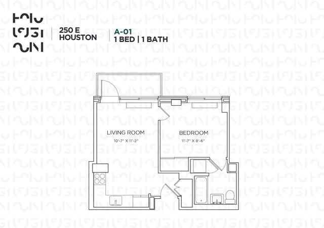 1 Bedroom, Alphabet City Rental in NYC for $4,100 - Photo 2
