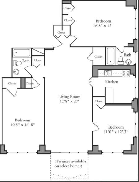 2 Bedrooms, Yorkville Rental in NYC for $5,985 - Photo 2