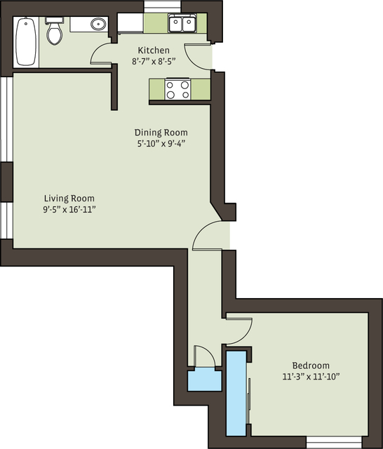 4 Bedrooms, Hyde Park Rental in Chicago, IL for $3,239 - Photo 2