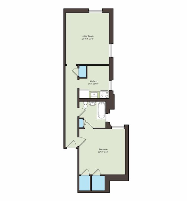1 Bedroom, Kenwood Rental in Chicago, IL for $1,108 - Photo 2