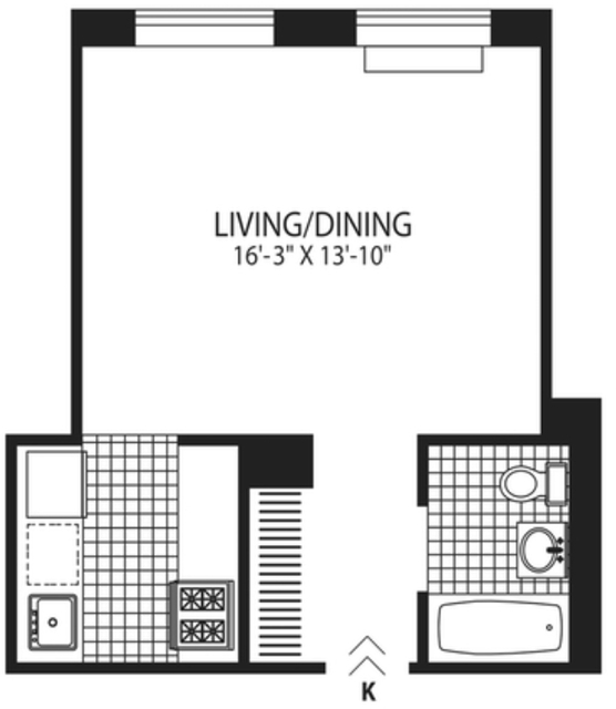 Studio, West Village Rental in NYC for $3,775 - Photo 2
