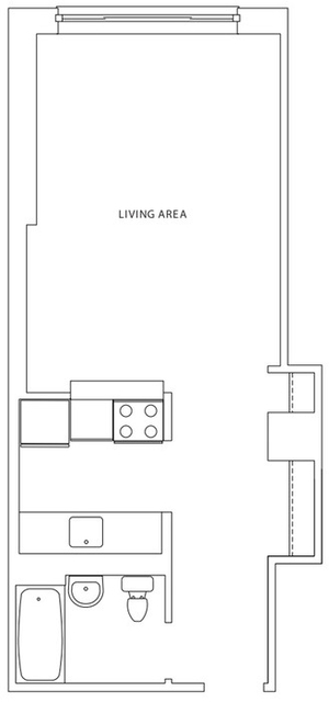 Studio, Hell's Kitchen Rental in NYC for $2,935 - Photo 2