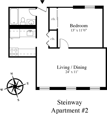 1 Bedroom, Astoria Rental in NYC for $2,095 - Photo 2