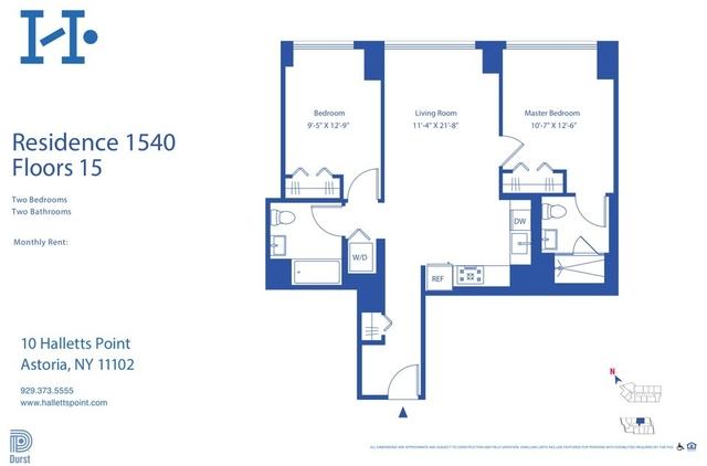 2 Bedrooms, Astoria Rental in NYC for $4,405 - Photo 1