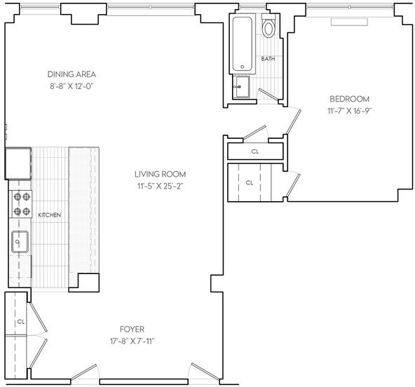 1 Bedroom, Sutton Place Rental in NYC for $4,445 - Photo 2