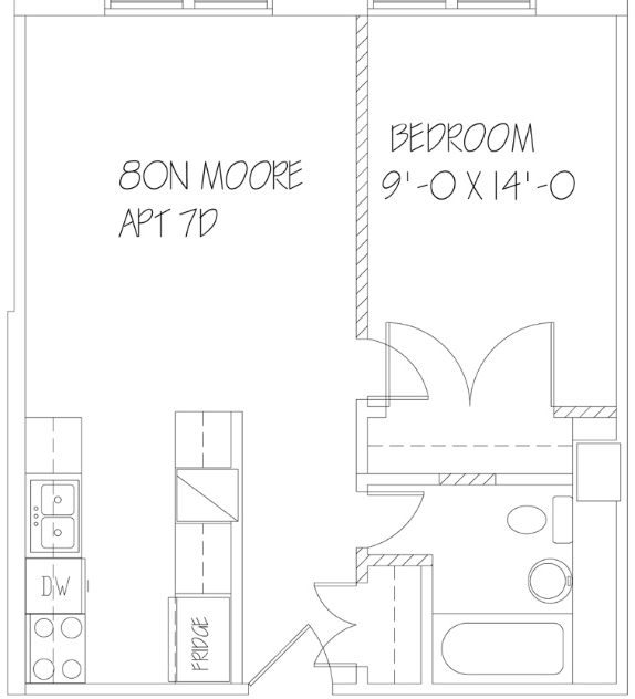 1 Bedroom, Tribeca Rental in NYC for $3,495 - Photo 2