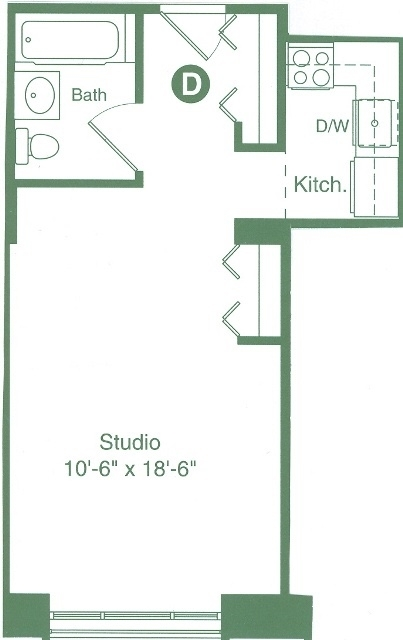 Studio, Flatiron District Rental in NYC for $3,195 - Photo 2