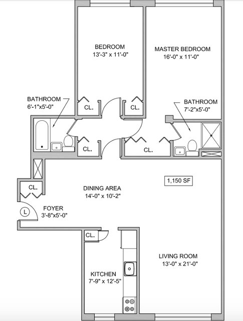 1 Bedroom, Yorkville Rental in NYC for $5,325 - Photo 2