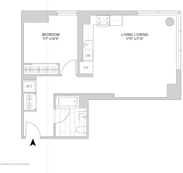 1 Bedroom, Murray Hill Rental in NYC for $4,834 - Photo 2