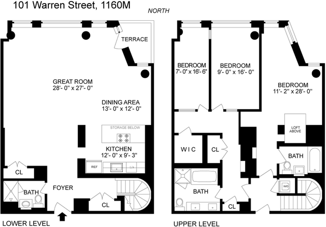 3 Bedrooms, Tribeca Rental in NYC for $14,995 - Photo 2