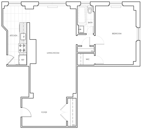 1 Bedroom, Sutton Place Rental in NYC for $3,590 - Photo 2