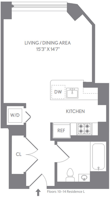 Studio, Upper West Side Rental in NYC for $3,652 - Photo 2