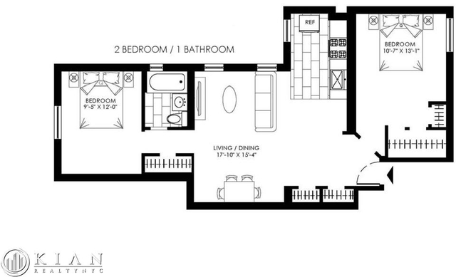 2 Bedrooms, Fordham Manor Rental in NYC for $2,200 - Photo 2