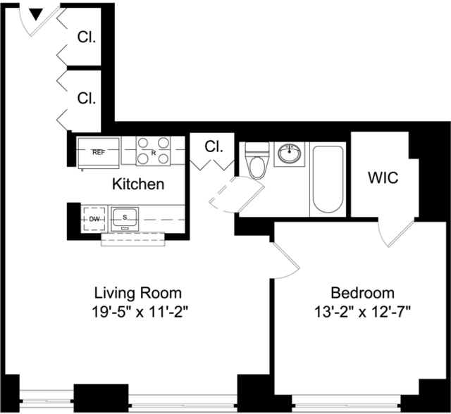 1 Bedroom, Battery Park City Rental in NYC for $4,195 - Photo 1