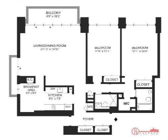 3 Bedrooms, Midtown East Rental in NYC for $9,300 - Photo 2