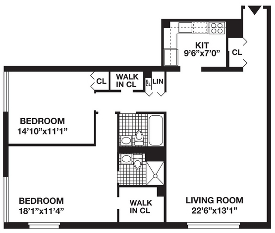 2 Bedrooms, Battery Park City Rental in NYC for $5,381 - Photo 2