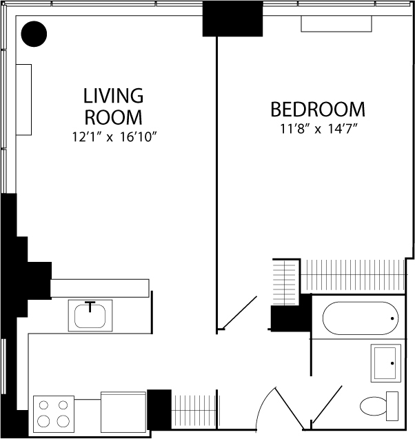 1 Bedroom, Koreatown Rental in NYC for $4,195 - Photo 2