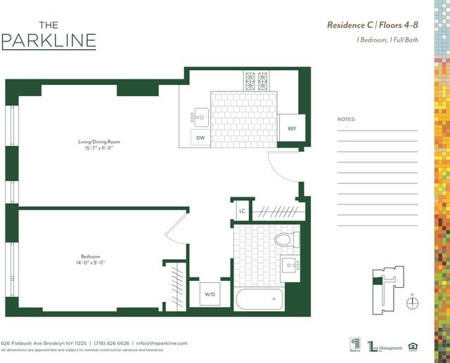 1 Bedroom, Prospect Lefferts Gardens Rental in NYC for $2,865 - Photo 1
