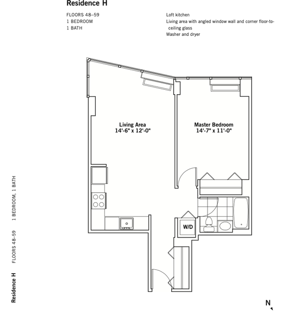 1 Bedroom, Chelsea Rental in NYC for $3,814 - Photo 2