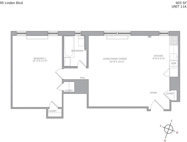 1 Bedroom, Flatbush Rental in NYC for $2,245 - Photo 2