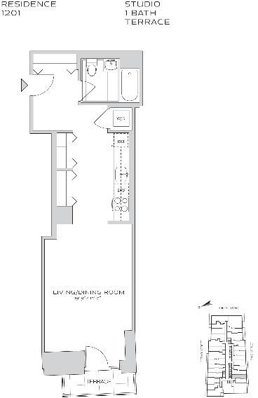 Studio, Financial District Rental in NYC for $3,455 - Photo 2