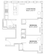 2 Bedrooms, Hell's Kitchen Rental in NYC for $4,780 - Photo 2