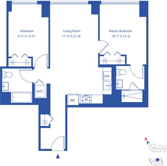 2 Bedrooms, Astoria Rental in NYC for $3,776 - Photo 2