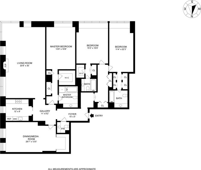 4 Bedrooms, Midtown East Rental in NYC for $17,895 - Photo 2