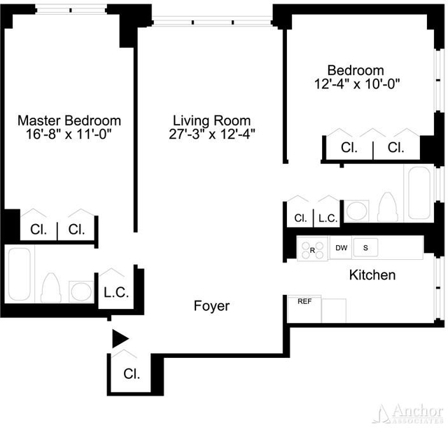 2 Bedrooms, Lincoln Square Rental in NYC for $6,295 - Photo 2
