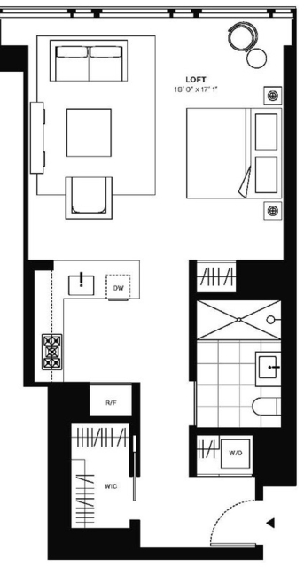Studio, Murray Hill Rental in NYC for $3,697 - Photo 2
