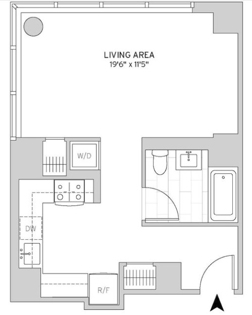 Studio, Murray Hill Rental in NYC for $3,872 - Photo 2