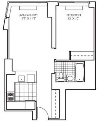 1 Bedroom, Theater District Rental in NYC for $3,667 - Photo 2