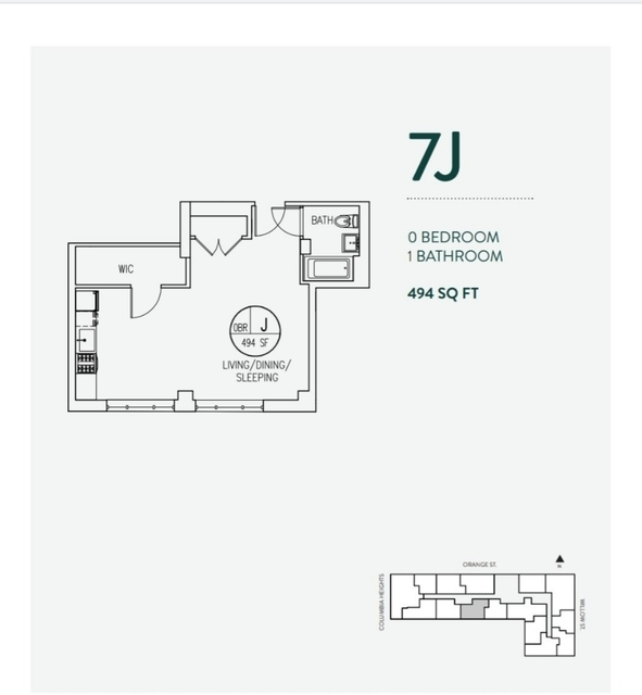 1 Bedroom, Brooklyn Heights Rental in NYC for $3,621 - Photo 2