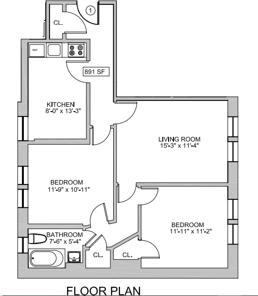 2 Bedrooms, West Village Rental in NYC for $5,950 - Photo 2