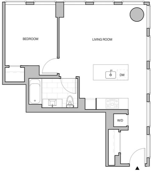 1 Bedroom, Williamsburg Rental in NYC for $4,015 - Photo 2