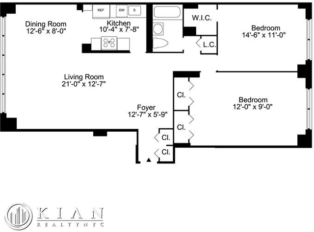 2 Bedrooms, Upper East Side Rental in NYC for $5,995 - Photo 2